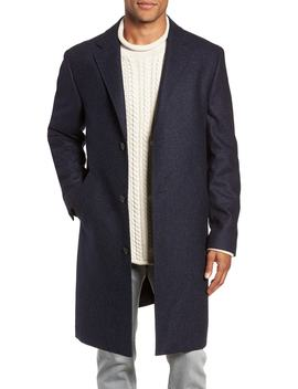 Destination Water Resistant Tweed Topcoat by J.Crew
