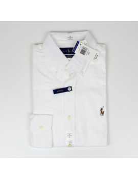 New Polo Ralph Lauren Men Oxford Shirt Classic Fit & Slim Long Sleve Dres Plaid by Polo Ralph Lauren