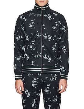 Floral Jacquard Track Jacket by Kenzo
