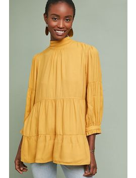 Goldie Tiered Blouse by Moulinette Soeurs