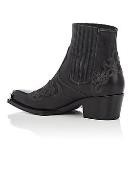 Cal Calveta Leather Ankle Boots by Calvin Klein 205 W39 Nyc