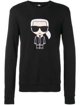Karl Ikonik Sweatshirt by Karl Lagerfeld
