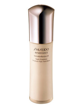 Benefiance Wrinkle Resist24 Night Emulsion, 2.5 Oz by Shiseido