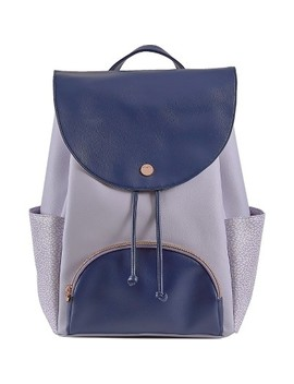 "Design Love Fest 17"" Backpack   Lavender/Navy by Designlovefest"