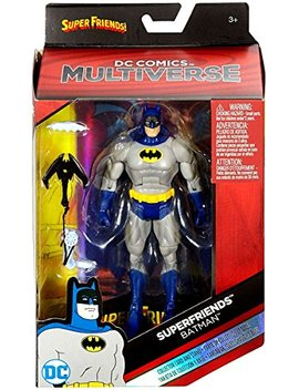 Dc Comics Multiverse Dc Superfriends Batman Exclusive Action Figure 6 Inches by Dc Comics