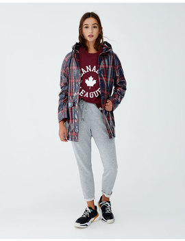 Felpa Stile College Join Life by Pull & Bear
