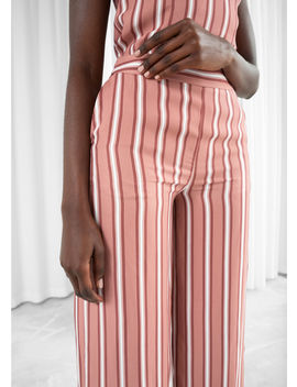 Wide Striped Trouser by & Other Stories