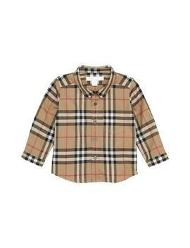 Fred Plaid Shirt by Burberry