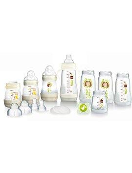 Mam Anti Colic Self Sterilising Bottle Starter Set, White by Mam