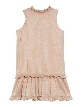 Metallic Ruffle Dress by Kate Spade New York