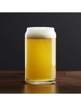 21 Oz Beer Can Glass by Crate&Barrel