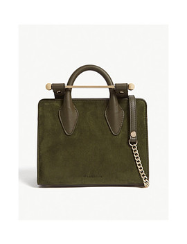 Nano Suede Tote by Strathberry