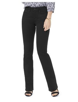 Barbara Bootcut Jeans In Black by Nydj Petites