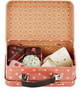 Suitcase With Cakes & Cups by Maileg