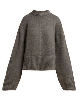 Virginia Cashmere Sweater by Khaite