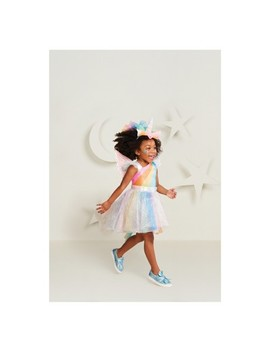 Toddler Girls' Rainbow Unicorn Halloween Costume   Hyde And Eek! Boutique™ by Hyde And Eek! Boutique™