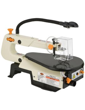 Shop Fox W1713 16 Inch Variable Speed Scroll Saw by Shop Fox