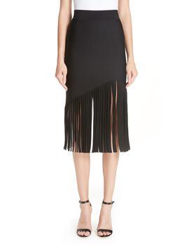 Marvella Fringe Hem Skirt by Cushnie Et Ochs