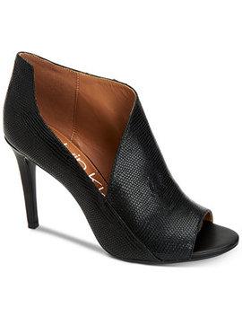 Women's Nastassia Ankle Booties by Calvin Klein