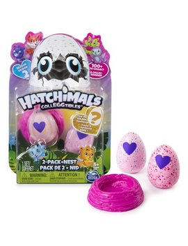 Hatchimals Coll Eg Gtibles Season 2   2 Pack + Nest (Styles & Colors May Vary) By Spin Master by Hatchimals