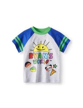 Ryans World Short Sleeve Graphic Tee Shirt (Little Boys & Big Boys) by Ryans World