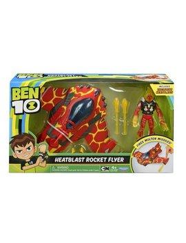Ben10 Heatblast Rocket Flyer   With Figure by Ben 10