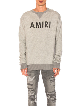 Crewneck Sweatshirt by Amiri