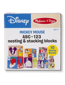 Melissa & Doug Mickey Mouse & Friends Nesting & Stacking Blocks Baby Toy by Melissa & Doug