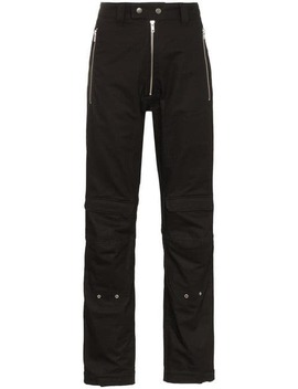 High Waisted Cargo Trousers by Gmbh