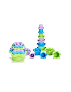 Green Toys Stacking Cups by Green Toys