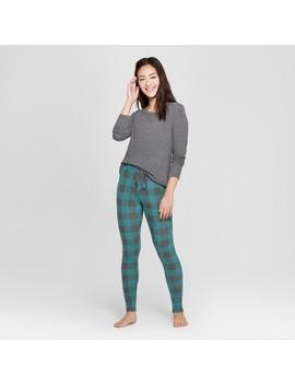 Women's Cozy Pajama Set   Xhilaration™ Green by Xhilaration™