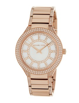 Women's Kerry Crystal Accented Bracelet Watch, 38mm by Michael Michael Kors