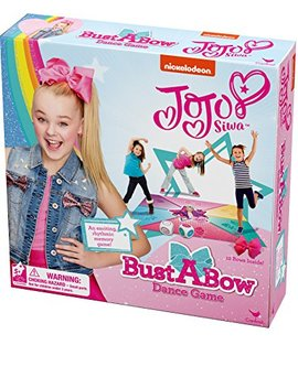 Cardinal Games Jo Jo Siwa Bust  A Bow Dance Action Game by Cardinal Games