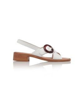 Buckle Sandals by Prada