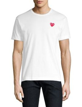 Heart Tee by Comme Des Garcons Play