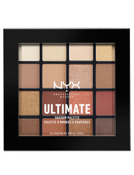 Nyx Professional Makeup Ultimate Shadow Palette   Warm Neutrals by Look Fantastic