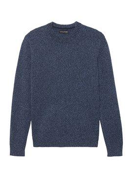 Italian Merino Wool&Nbsp;Crew Neck Sweater by Banana Repbulic