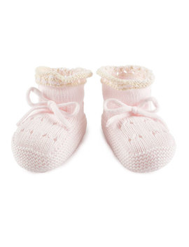 Knitted Booties, Infant by Pili Carrera