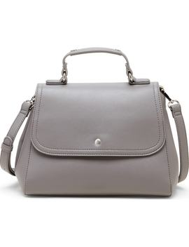 Hingi Faux Leather Satchel by Sole Society
