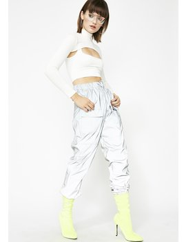 Hype Babe Reflective Pants by Hot Delicious