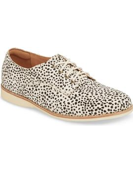 Derby Genuine Calf Hair Oxford by Rollie