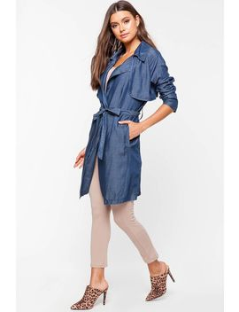 Trench Coat Long Sleeve by A'gaci