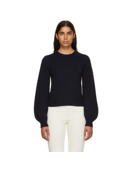 Navy Cashmere Sweater by ChloÉ