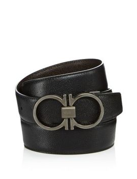 Double Gancini Belt by Salvatore Ferragamo