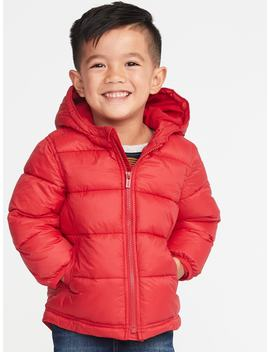 Hooded Frost Free Puffer Jacket For Toddler Boys by Old Navy