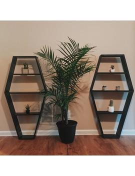 Coffin Bookcase by Etsy