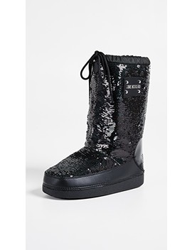 Love Moschino Sequin Snow Boots by Moschino