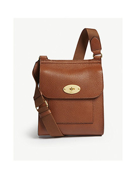 Antony Small Leather Cross Body Bag by Mulberry