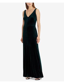 Velvet Gown by Lauren Ralph Lauren