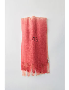 Two Tone Scarf Pink/Fluo Pink by Acne Studios